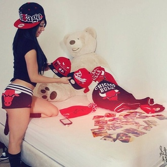 shorts chicago bulls bag hat jacket
