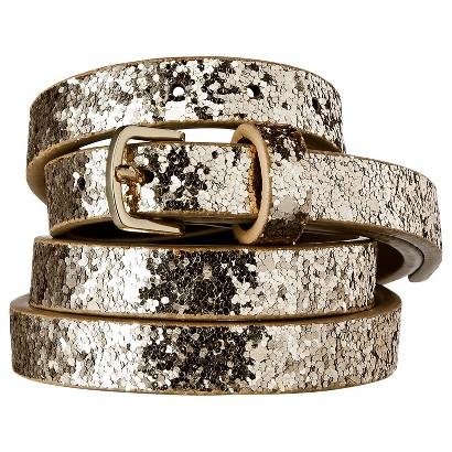 Merona® Chunky Belt - Glitter