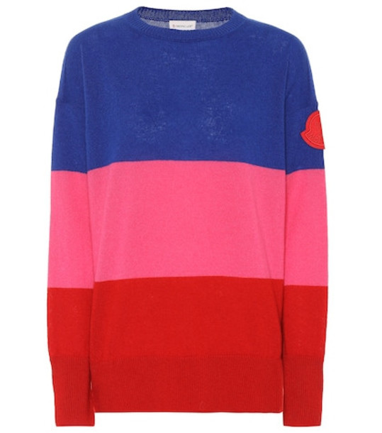 Moncler Striped cashmere sweater