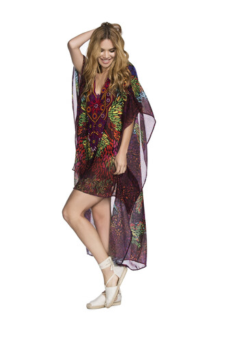 swimwear cover up print agua bendita bikiniluxe
