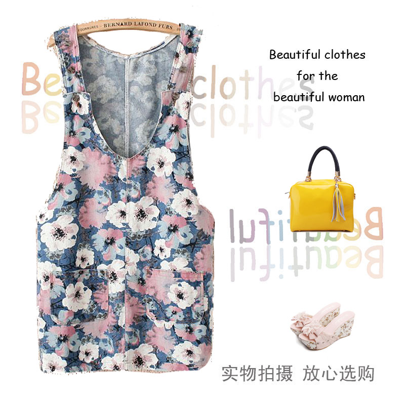 buy fashion new 2014 summer women s big flower women dresses clothing