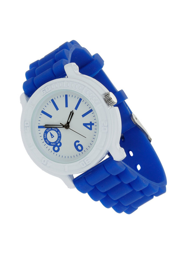 jewels watch blue