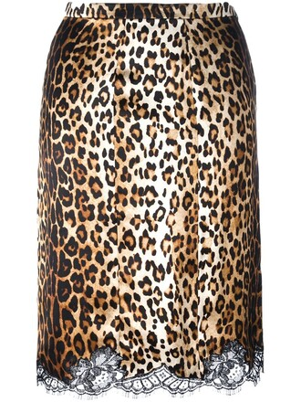 skirt pencil skirt lace brown