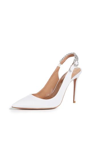 lady pumps white shoes