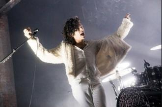 jacket matty healy the 1975 grunge fur matt healy