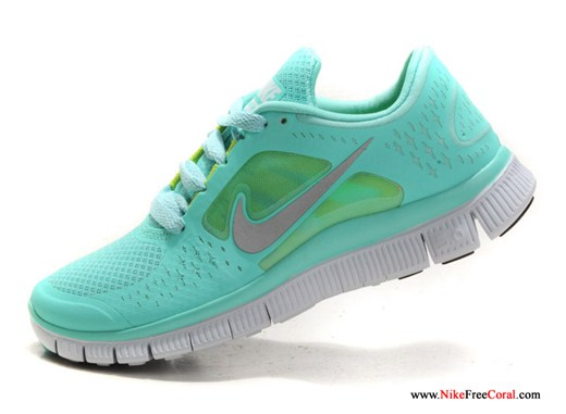 Nike free run 3 5.0 tiffany blue for women for running