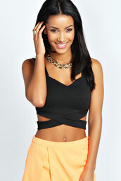top,crop tops,@helpme,@bralet,bralette,Half Top,webbed,black,black and white