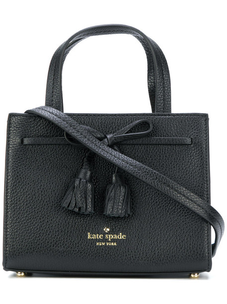 Kate Spade mini women street bag leather black