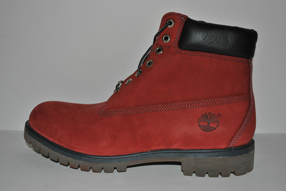 "New Men's Timberland 6"" Premium City Year Red 15006M 