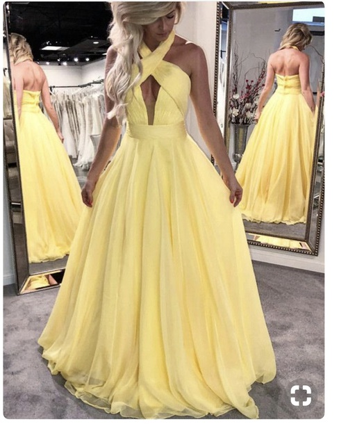 dress looking for this yellow prom dress!