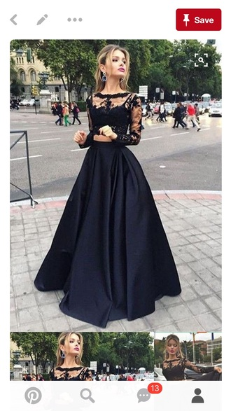 dress black prom dress lace dress black dress beautiful sexy prom dress prom dress gown prom gown two piece dress set two piece prom dresses 2 piece skirt set 2 piece prom dress prom dress 2016 black prom dresses 2016 long sleeve prom dress evening dress long evening dress evening outfits formal dress formal event outfit