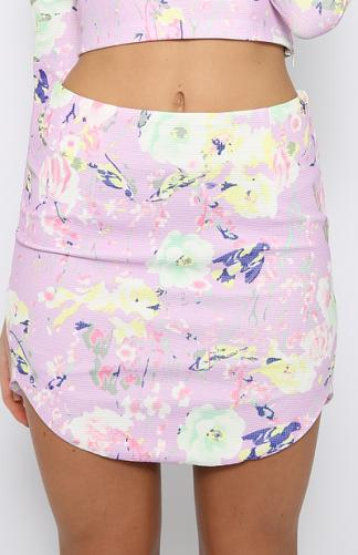 Sasha Skirt - Purple | New Arrivals | Peppermayo