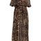 Roberto cavalli - printed silk chiffon maxi dress