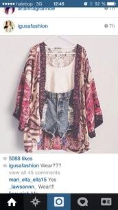 shorts,cute,jacket,blouse,boho,kimono,boho chic,cardigan,printed sweater,boho shirt,hippie,hippie shirt,boho kimono,boho hippie dress fashion,fashion,top,dress,aztec top,paisley