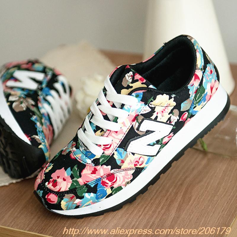 2014 seconds kill medium(b,m) breathable lace up new fall floral n word gump women sports shoes soled platform free shipping-in Women's Fashion Sneakers from Shoes on Aliexpress.com
