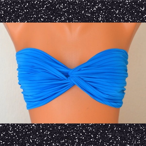 swimwear neon blue blue swimwear cute or can we find it? :) i seriously love it bikini