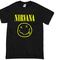 Nirvana smile grunge t-shirt - basic tees shop