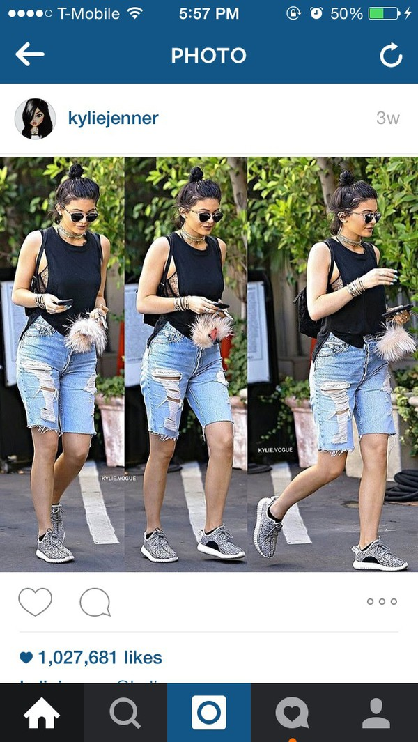 Shorts: denim capris, denim shorts, ripped, jeans, denim ...
