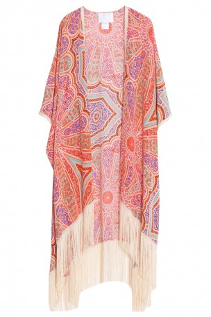 ATHENA PROCOPIOU - Multi Princess Fringed Kimono Top | Boutique1.com