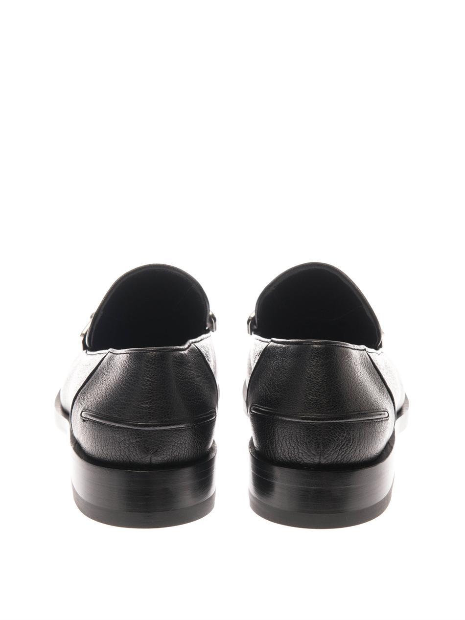 Classic metallic edge loafers