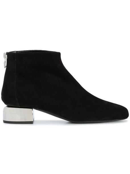 Pierre Hardy heel women ankle boots leather black shoes