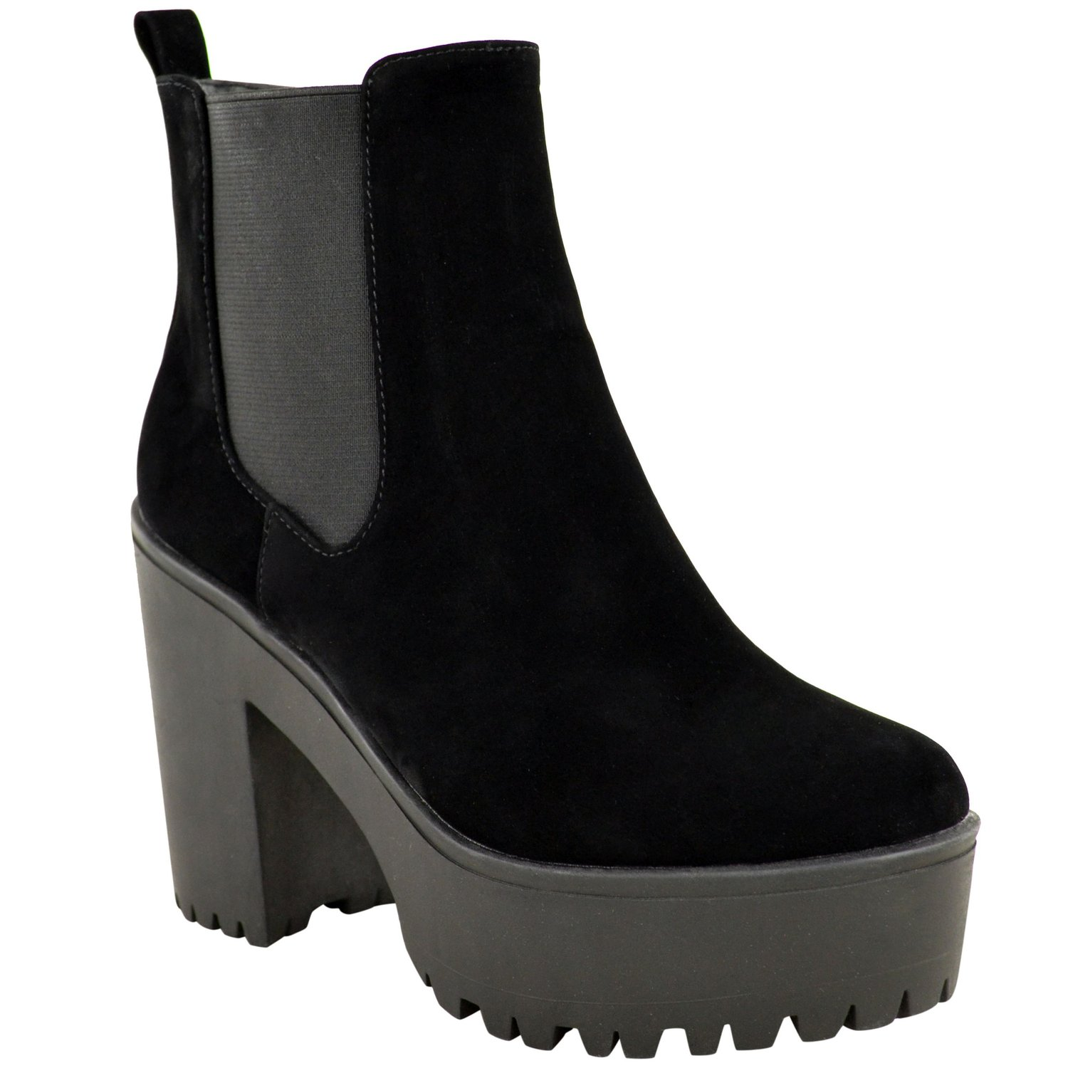 com: Fashion Thirsty Womens New Chelsea Cut Out Ankle Boots Low ...