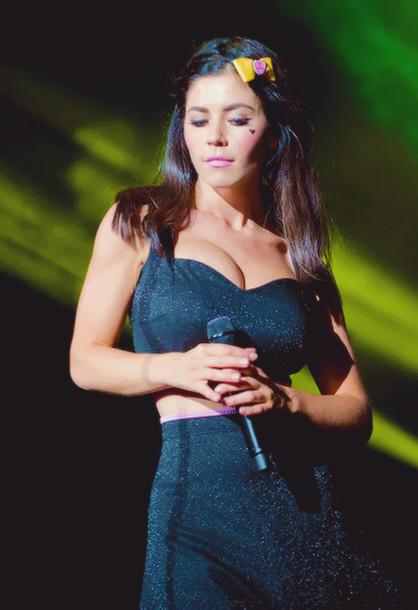 Dress Marina And The Diamonds Black Pink Live Stage