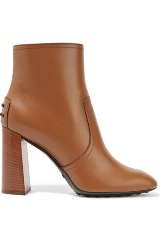 leather ankle boots boots ankle boots leather light brown shoes