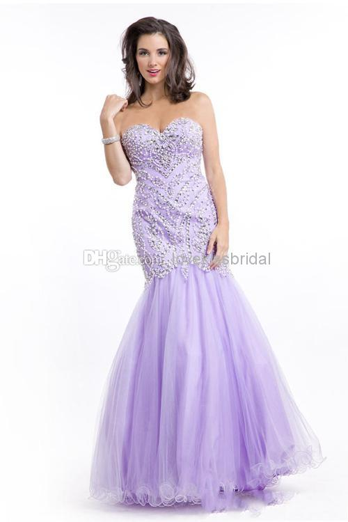 Discount Gorgeous Sweetheart Beads Mermaid Prom Dresses Desinger Backless Bling Crysrtal Evening Gowns Cheap Formal Celebrity Dress Online with $161.26/Piece | DHgate