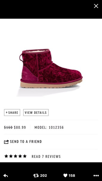 shoes, ugg boots, suede, burgundy