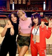 top,crop tops,cropped,shorts,camouflage,taylor swift,camila cabello,charli xcx,instagram,celebrity