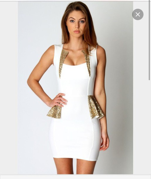 Images of White Tight Dress - Reikian