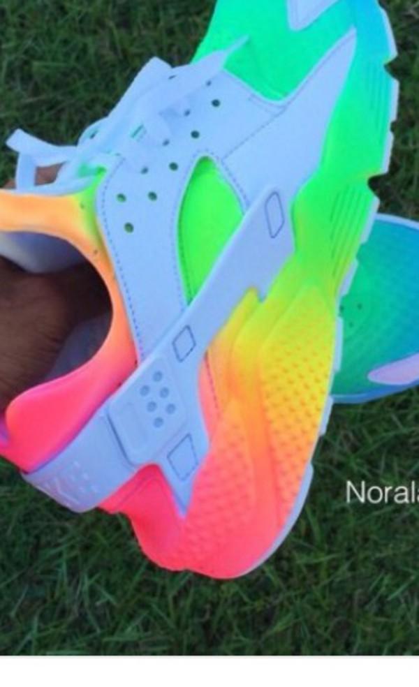 f291f7fc79b ... OMBRE-NEON Summer Nike Air Huarache