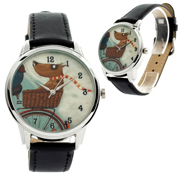 jewels watch watch dog bike scarf funny ziz watch ziziztime
