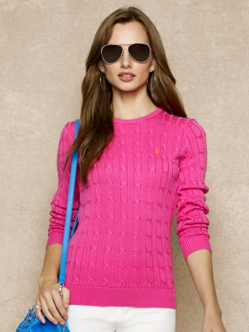 Long-Sleeved Crewneck - Crewnecks & Tanks   Sweaters - RalphLauren.com