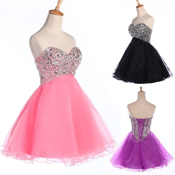 2014 New Year Homecoming Cocktail Party Evening Dress Ball Gown Bridesmaid Dress | eBay