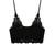 Crochet Lace Bralet Top (Black)