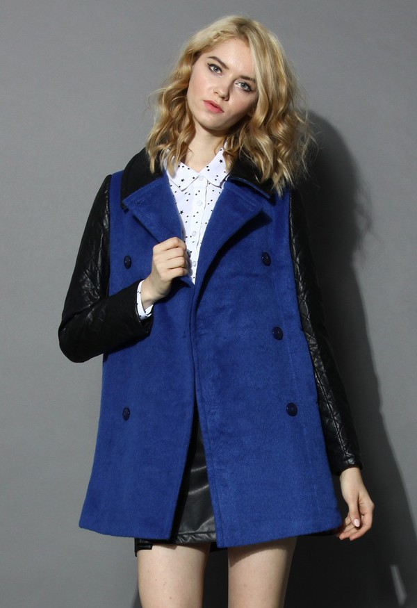 chicwish double breasted coat