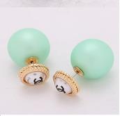 jewels,double pearl,Double Pearl Stud Earring,chanel,chanel earrings