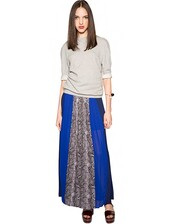 cute maxi skirt,fall outfits,pleated maxi skirt,trendy skirts,maxi skirt,python print skirt,color block skirt,statement skirt,fall trends,affordable skirts,pre fall,back to school,transitional pieces,pixie market,pixie market girl,navy skirt