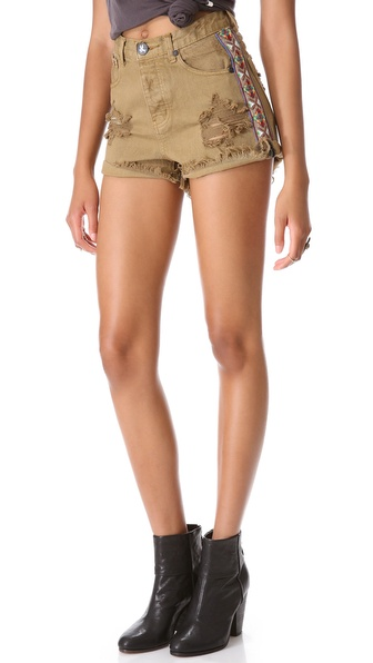 Shopbop One Teaspoon Shorts One Teaspoon Buffalo Hawk