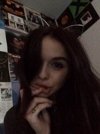 jewels cat ears acacia acacia brinley metalic hair accessories