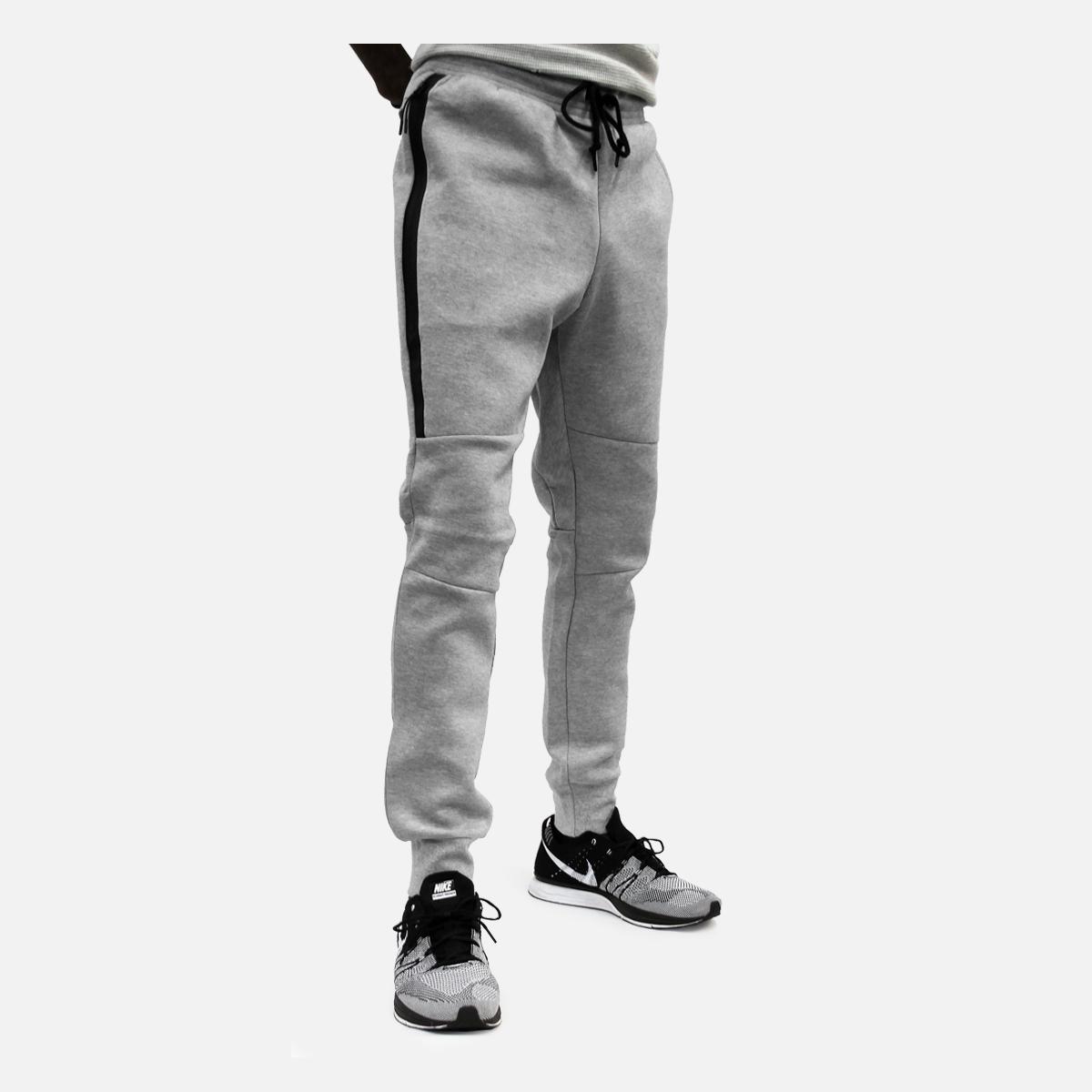 Nike Tech Fleece Pant (Dark Grey HeatherMedium GreyBlack
