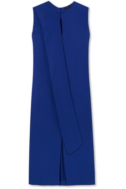 Joseph dress midi dress midi blue bright