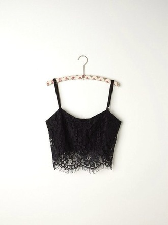 tank top black lace pretty crop shirt dark black lace bustier black bralette summer top black crop top bralette balconette black bralet bra lace bralette lace bustier trendy cute top crop tops fashion style cute sweet cropped black top summer top summer black top perfect girl lace top