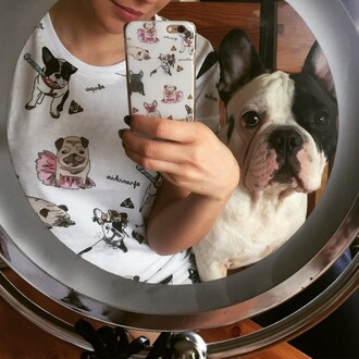 phone cover yeah bunny iphone pugs frenchie dog dog print