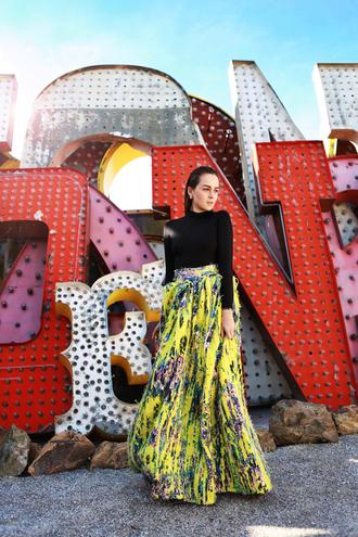 style scrapbook blogger skirt top jewels