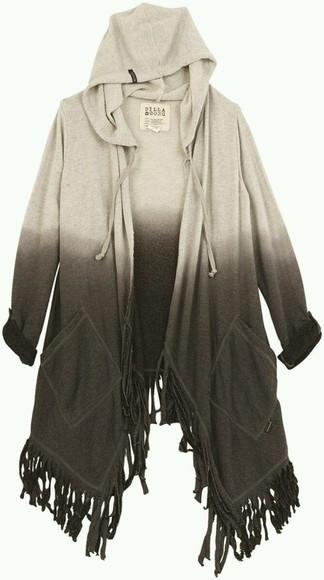 hoodie cardigan hoodie coat