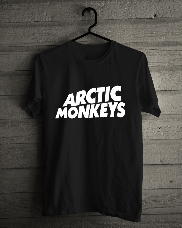 New Arctic Monkeys Black Tee Tshirt Size S to 2XL - T-Shirts, Tank Tops