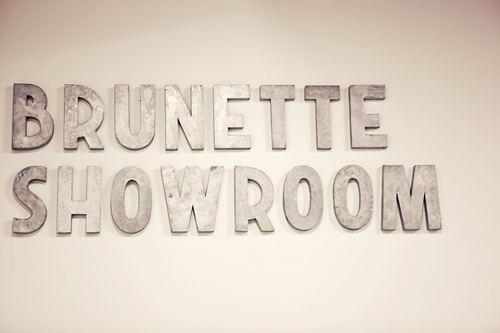 Brunette Showroom